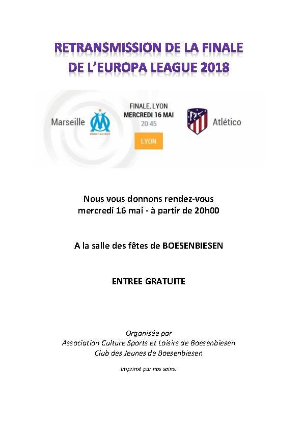 finale europa league 2018